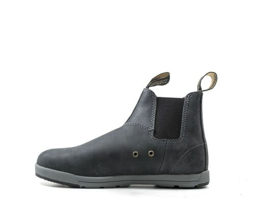 1428s Cuir Femme Naturel Bccal0323 Blu Chaussures Blundstone xwUf8qB8H