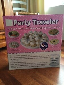 Brand-New-Sealed-6-In-1-Party-Traveler-And-Serving-Tray-carrier