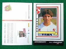 (4908) Cartolina PADOVA ALEX DEL PIERO Advertising Pubblicita' Card 15x10,5 cm