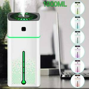 LED Ultraschall Luftbefeuchter Aroma Diffuser Aromatherapie Duftlampe Timing