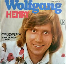 """7"""" 1974 REAL KULT IN VG++ ! WOLFGANG : Henry"""