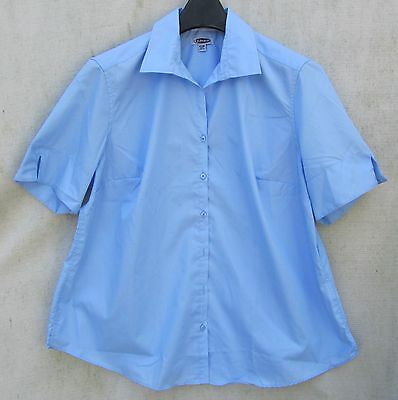 Edwards MENS Long Sleeve 1397 NWOT Blue SHIRT 2XL 3XL Banded Free SHIP Casino LS