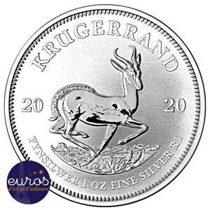 AFRIQUE-du-SUD-Krugerrand-2020-1-Oz-Argent-pur-999-99-Bullion-Coin