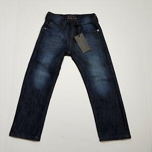 248cc4369e Steves Jeans Toddler Boys 4T Blue Baren Black Childrens Long Denim ...