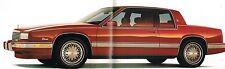 1989 Cadillac Brochure: ALLANTE, De VILLE,FLEETWOOD,60,ELDORADO,SEVILLE,BROUGHAM