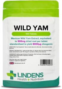 Mexican-Wild-Yam-500mg-Tablets-lt-Diosgenin-gt-100-pack-Lindens-2278