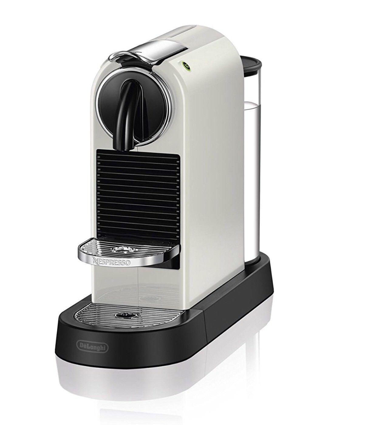 DeLonghi EN167W Nespresso Citiz Espresso Maker Cafetière