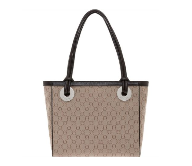 NEW OROTON Signature O Medium Tote Handbag Leather Chocolate Style BNWT RRP $395