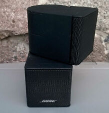 1 BOSE Jewel Doppio Altoparlante Cube * satelliti Acoustimass Lifestyle Nero