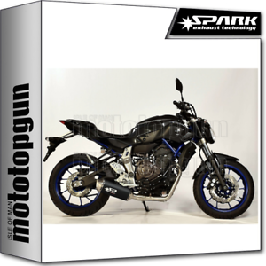 SPARK-ESCAPE-COMPLETO-FORCE-RACING-ACERO-NEGRO-YAMAHA-MT-07-2016-16