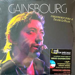Serge Gainsbourg 2xLP Enregistrement Public Au Théâtre Le Palace - Edition spéc