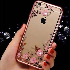 Crystal-Chrome-Edge-Glitter-diamonded-Rhinestone-soft-TPU-phone-case-Gel-cover