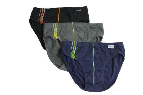 3 Pack Boys Briefs Mix Colours Age 4-11 Cotton