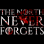 The North Never Forgets Herren T-Shirt Fan Shirt Thrones Spruch Motto Game GoT