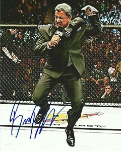 Bruce-Buffer-Autographed-Signed-8x10-Photo-UFC-REPRINT