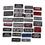 Words-Slogan-Badge-Embroidered-Iron-on-Patches-Fabric-Sticker-Clothes-Bag thumbnail 1