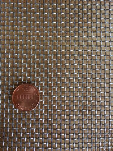 "Stainless Steel 304 Mesh #8 .035 Wire Cloth Screen 6/""x12/"""