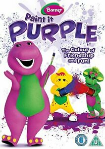 Barney-Paint-It-Purple-DVD-Region-2