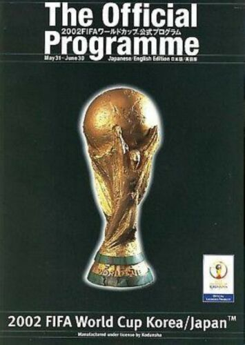 2002 OFFICIAL WORLD CUP TOURNAMENT PROGRAMME
