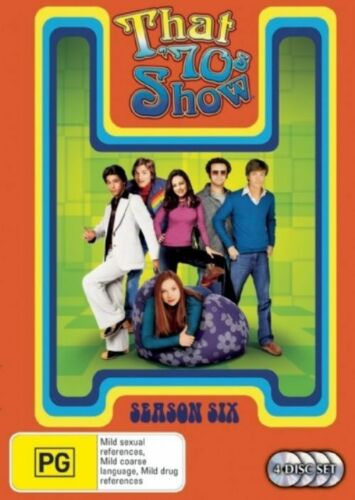1 of 1 - That 70's Show : Season 6 (4-Disc Set)-DVDS LIKE NEW REGION 4 FREE POST AUS
