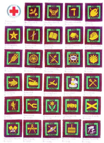 Proficiency Badge No.1 1950/'s BRITISH UNITED KINGDOM Senior Scout BS Series