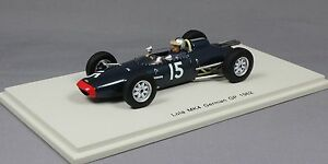 Spark-Lola-Mk4-aleman-Grand-Prix-1962-Roy-Helene-Resina-S4268-1-43-Nuevo