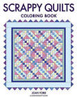 Scrappy Quilts Coloring Book by Joan Ford (Paperback, 2016)