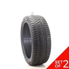 Set Of 2 Used 24540r20 Pirelli Winter Sottozero 3 Mgt 99w 6 6532 Fits 24540r20