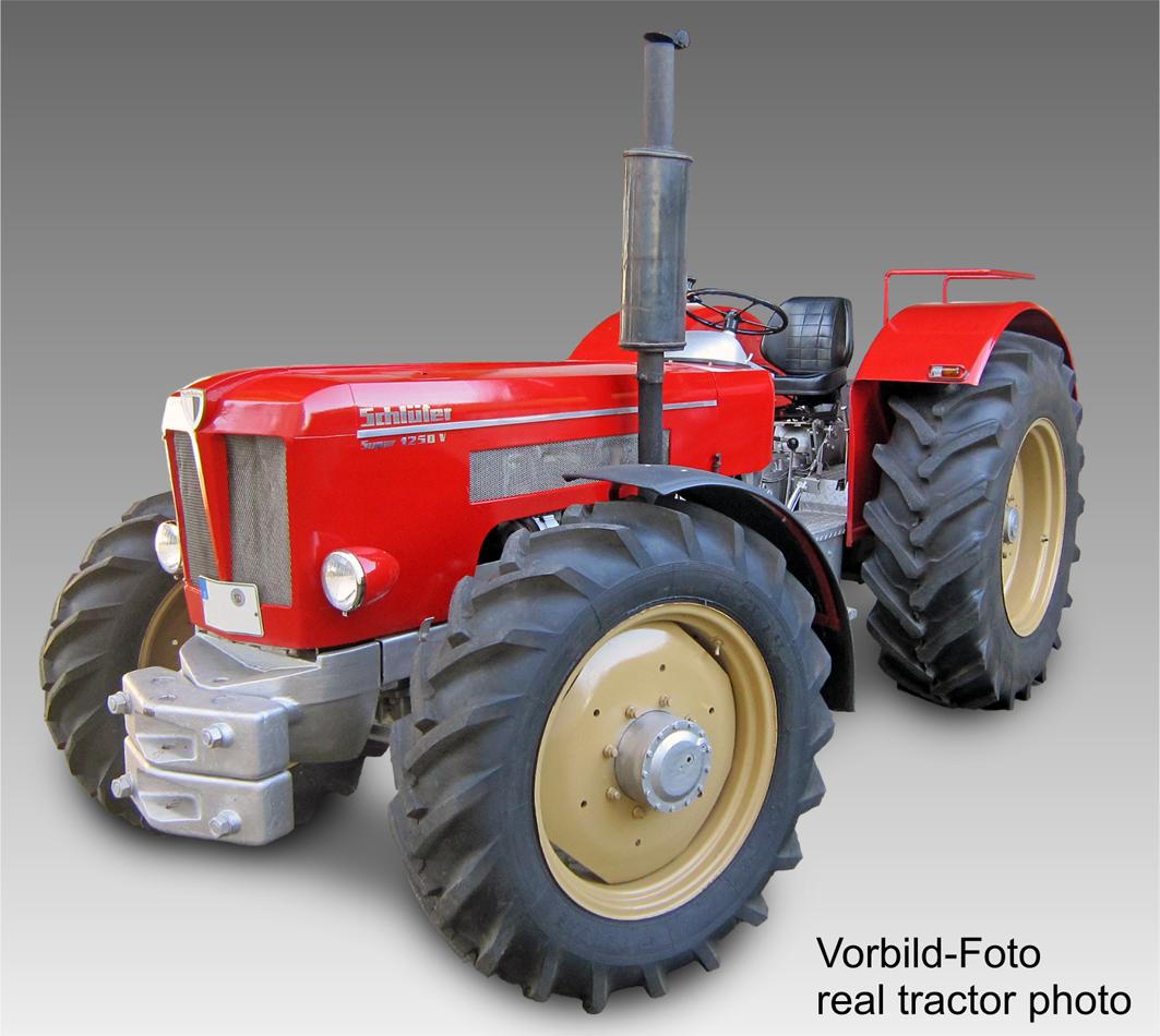 1042 Schlüter Super 1250 V 1968-1973, 1 32 Manière Toys