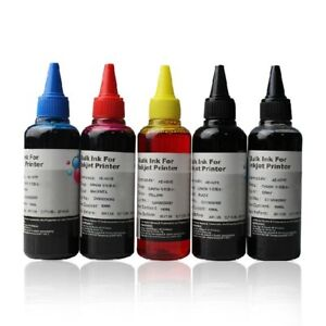 5-x-100ml-Refill-Ink-for-Canon-Printer-MP550-MP640-MX885-IP4850-MG5150-MG5250