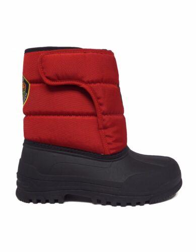 Polo Ralph Lauren Junior Big Kids/' HAMILTEN EZ Winter Boots Red//Black 992385J a1