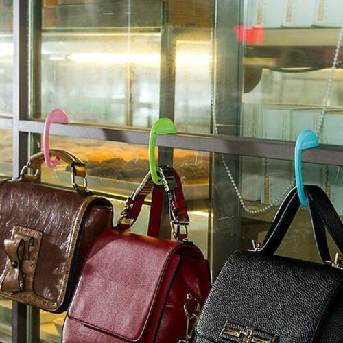 Portable Foldable Bag Purse Hook Handbag Hanger Purse Hook Handbag Holder CF