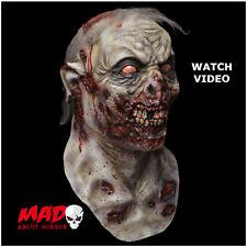 Deluxe Zombie ROAMER Latex Mask - Walking Dead HALLOWEEN Horror Film SCARY!