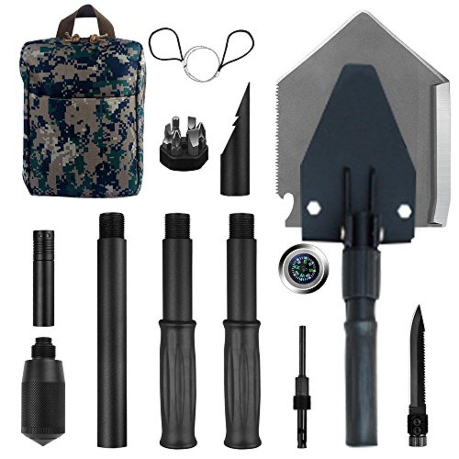 Militär Tragbarer Faltbarer Schaufel 89cm Lang Taktisch Set F S W Verfolgen