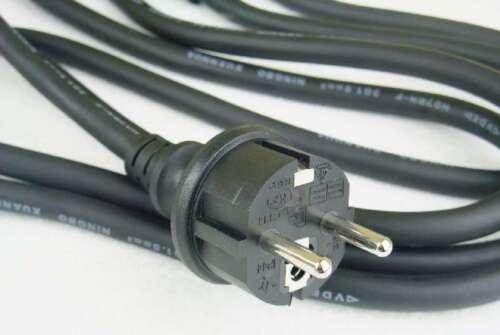 10x 2,5 m Industrie Verlängerungskabel für Außen H07RN-F Schuko Kabel Stromkabel