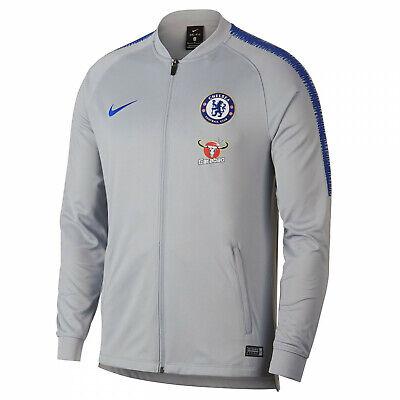 2018 2019 Chelsea FC Nike Équipe Tricoter Veste de Survêtement Temps Libre | eBay