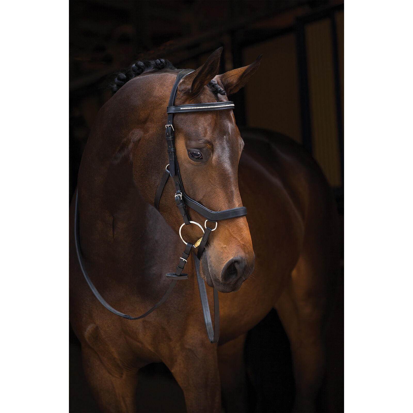 Rambo ® micklem ® diamante competition Bridle, Horseware