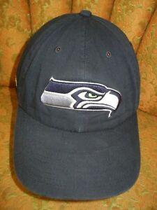 Image is loading BRIDGESTONE-GOLF-Blue-NFL-Football-SEATTLE-SEAHAWKS-HAT- c49058e29