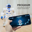 thumbnail 4 - Ruko Smart Robots for Kids, Large Programmable Interactive RC Robot with Voice 4