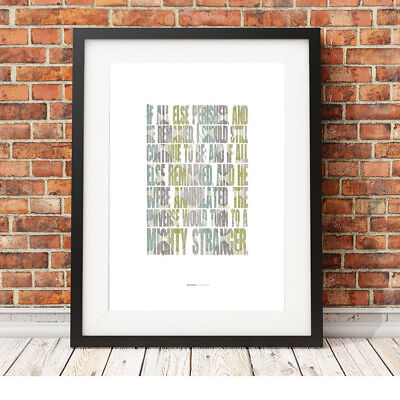 Emily Brontë Wuthering Heights  ❤ book quote poster art print inspirational #17