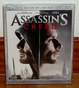 ASSASSIN-S-CREED-ASSASSINS-BLU-RAY-3D-BLU-RAY-SLIPCOVER-NUEVO-NEW-SIN-ABRIR