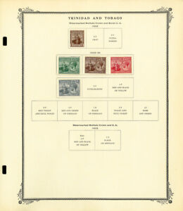 Trinidad-And-Tobago-Clean-Mostly-Mint-1913-to-1990s-Vintage-Stamp-Collection