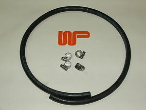CLASSIC-MINI-RUBBER-FUEL-PIPE-5-16-Sold-by-the-metre-with-4-Hose-Clips