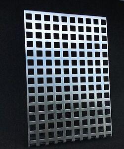lochblech verzinkt blech qg10 15 lochplatte abdeckung 1. Black Bedroom Furniture Sets. Home Design Ideas