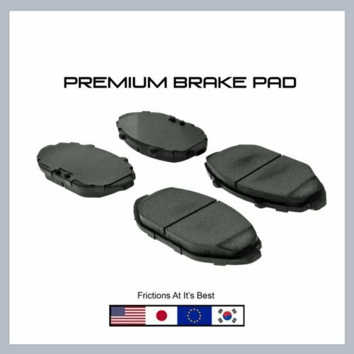 Town Car /& Grand Marquis D748 Front Brake Pad-Premium Pads for Crown Victoria