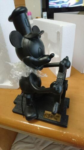 Disney Mickey Steamboat Willie Bronze Figure 77th anniversary Limited 1000 20cm