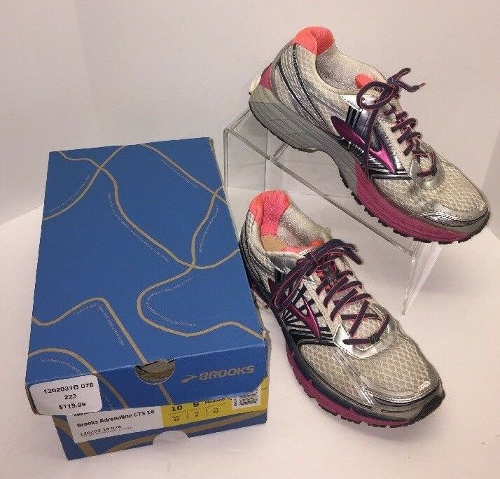 e0917746830aa Brooks Adrenaline GTS 14 Women s Pink Running Shoes Size 10 for sale ...