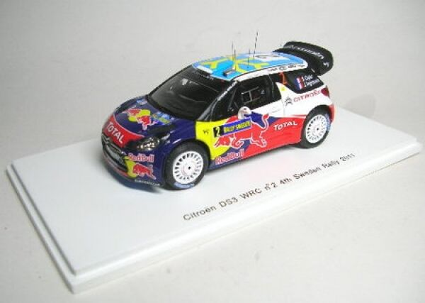 CITROËN Ds 3 WRC No. 2 Course Suède 2011