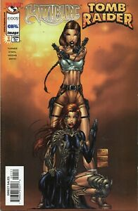Witchblade Tomb Raider 1c 1998 Vf Nm Image Top Cow Ebay