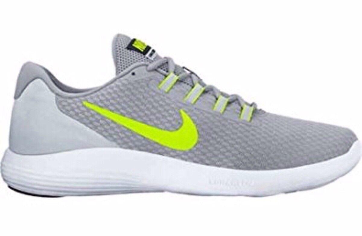 Nike Running LunarConverge Running Nike Shoes Trainers Womens Grey/White/Volt 03bb53